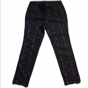 Cynthia Rowley Black Ankle Pants 8